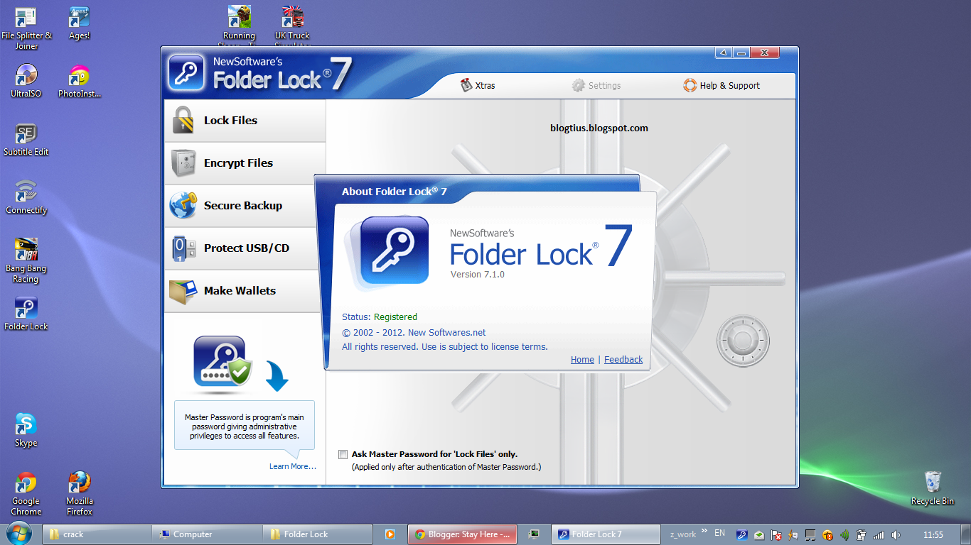 Download free Folder Lock 7 2 1 Final With Crack Folder ...