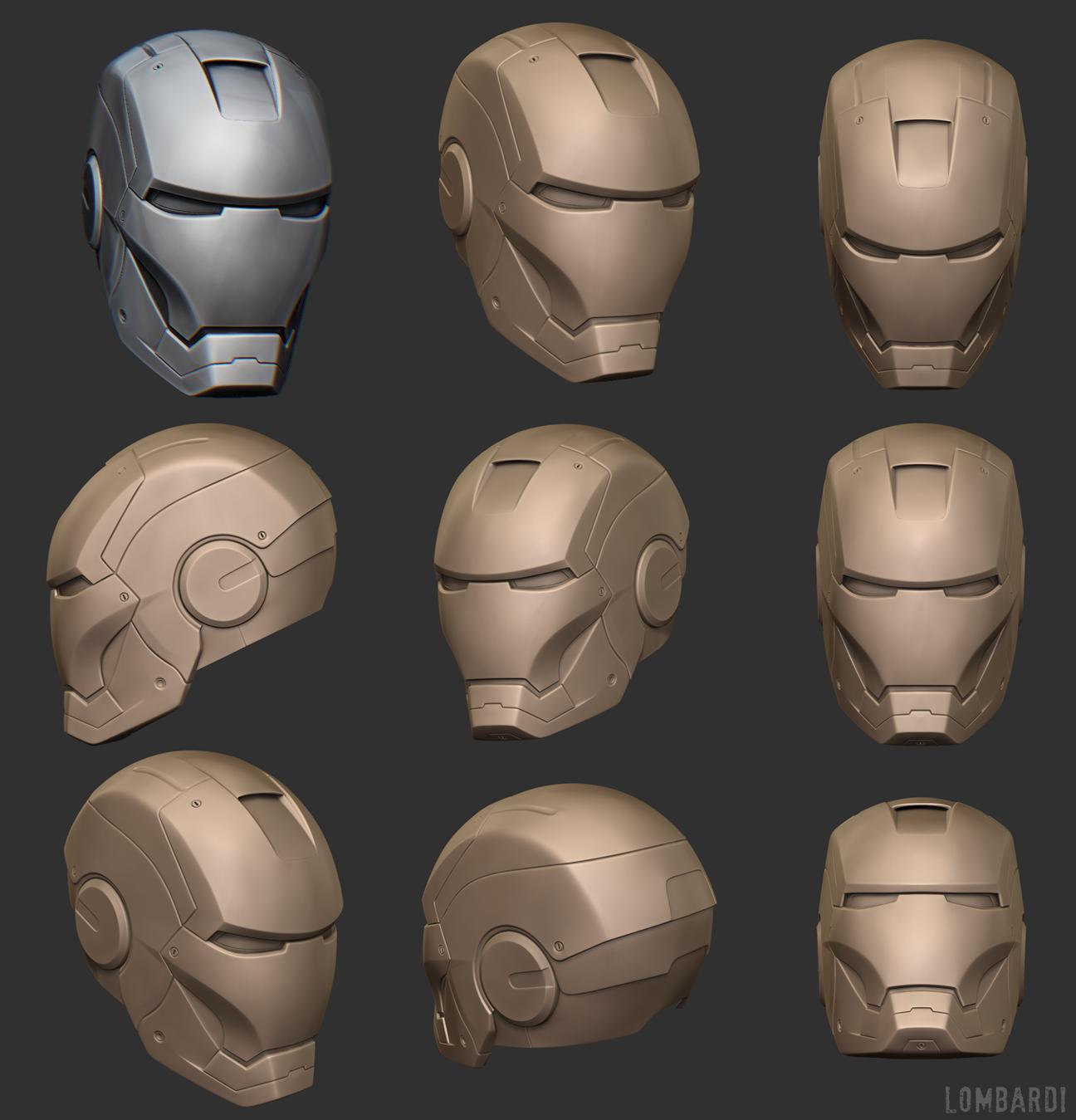 Model Iron Man 3d Iron Man 3d Wip