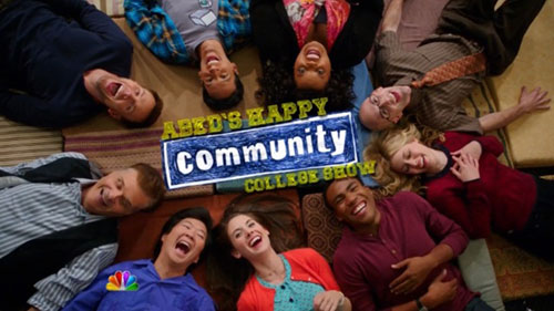 abed's happy community college show