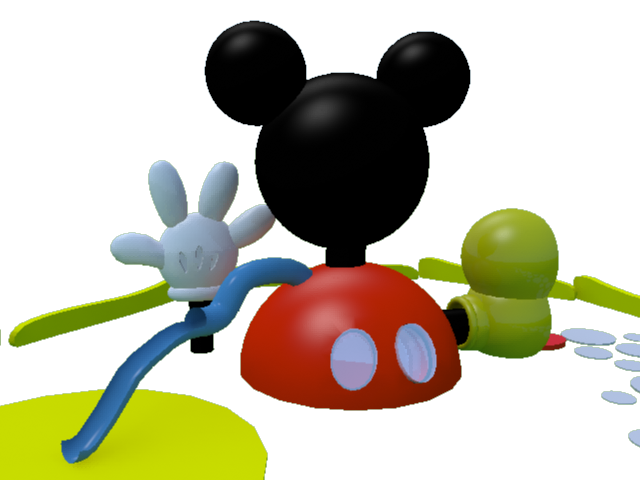 Mickey Mouse 3d...