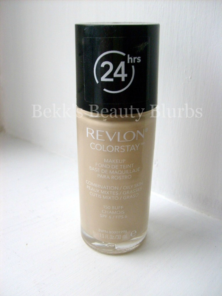 Bekk's Beauty Blurbs: Revlon ColorStay Liquid Foundation ...