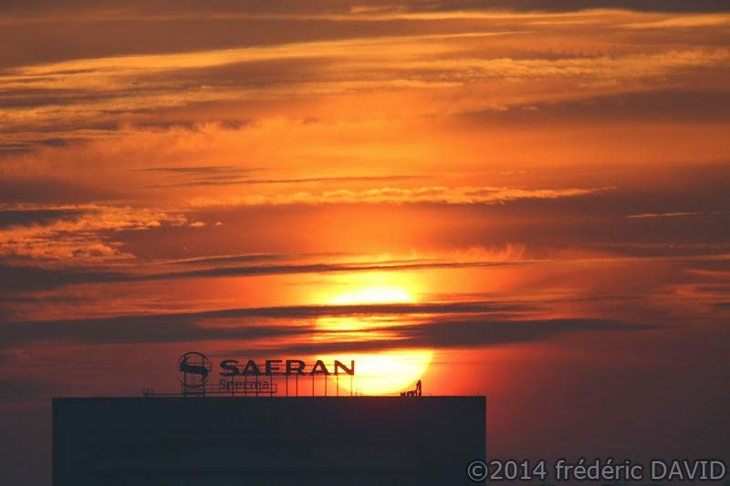 matin soleil aube contre jour silhouette ciel Seine-et-Marne