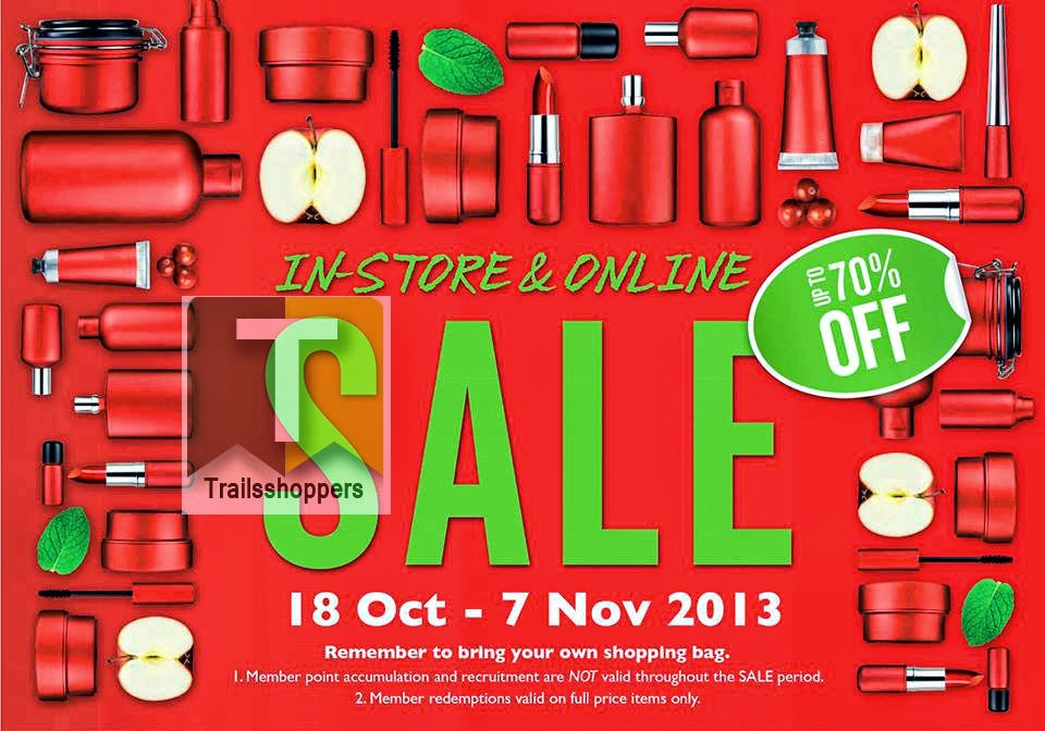 The Body Shop Sale Storewide N Online Store 2013