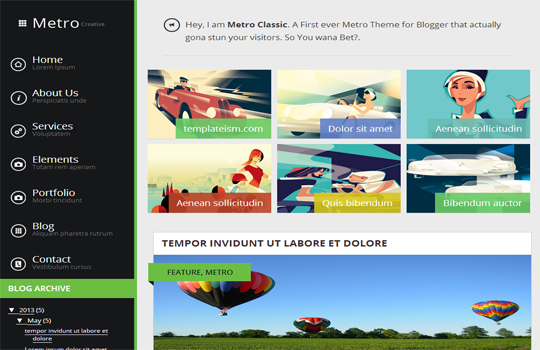 Top 10 premium templates SEO friendly and optimized ! 5. Metro Classic Responsive...