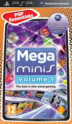 Mega minis Volume 1 PSP Cover Photo