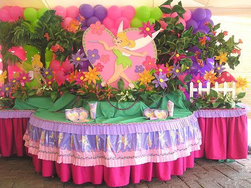 Cumpleaños de campanita decoración - Imagui