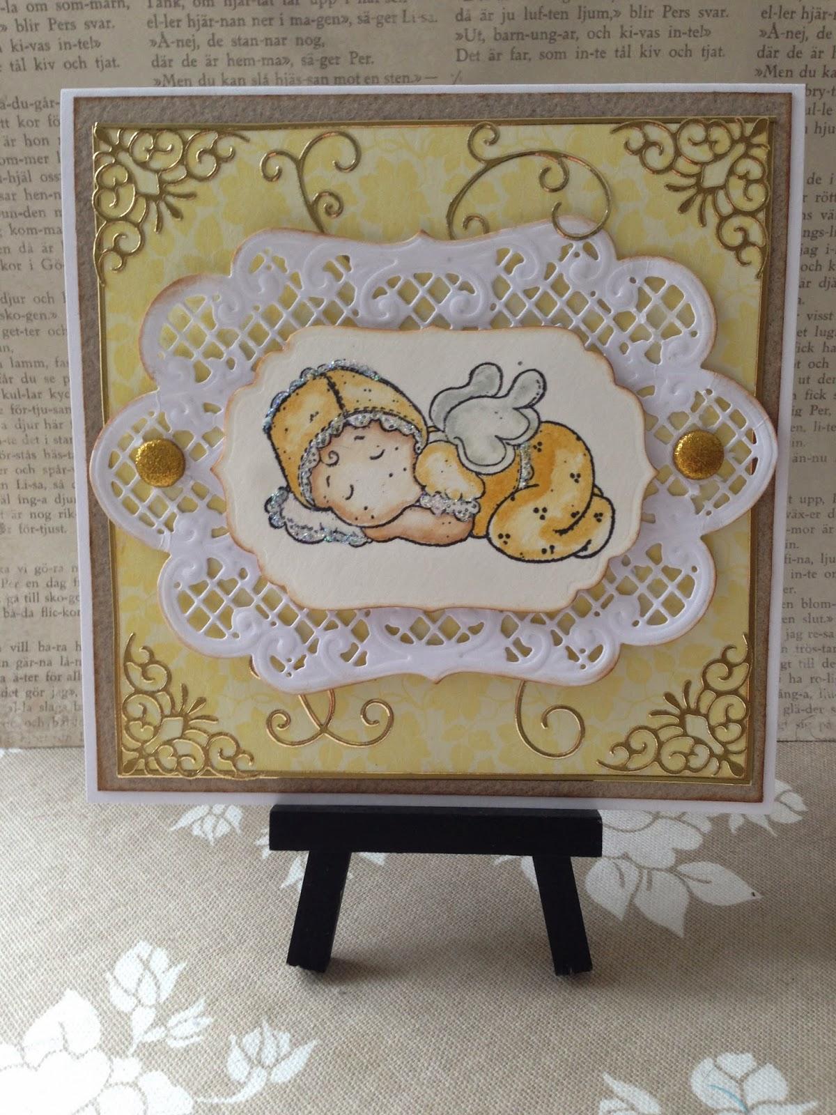 Olkalaukku Kangas : Paperi ja kangas vauvakortteja
