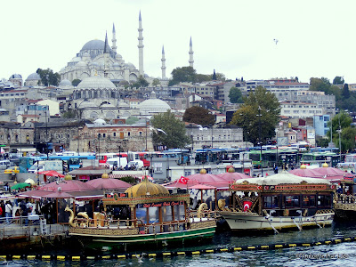 Istanbul Views From Galata Bridge