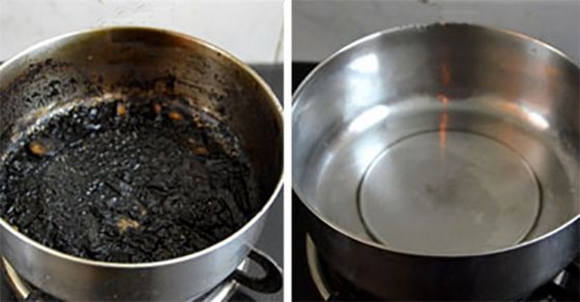 How To Clean A Burnt Stainless Steel Pot Handy Diy
