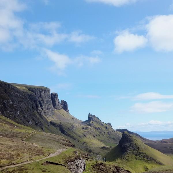 écosse highlands île skye quiraing