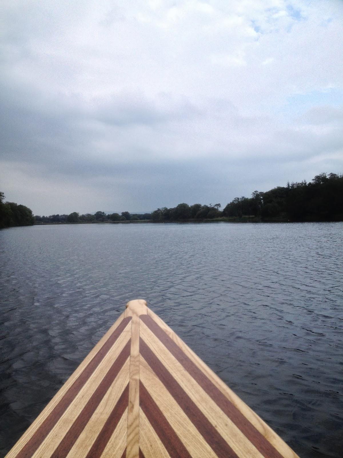 Waterman 16 canoe build maiden voyage for Waterman 16