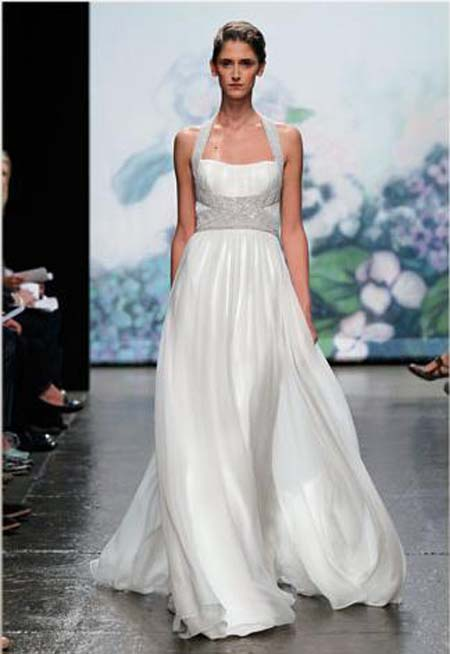 Fall wedding dress collection from the designer 39s is Monique Lhuillier is