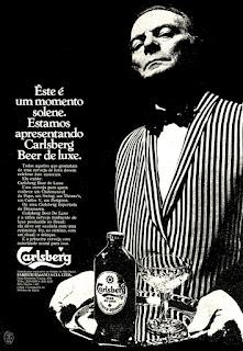 cerveja Carlsberg,  reclame década de 70;  propaganda década de 70; Brazil in the 70s; Reclame anos 70; História dos anos 70; Oswaldo Hernandez;