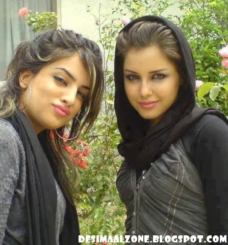 Desi College Girls In Arabian Style