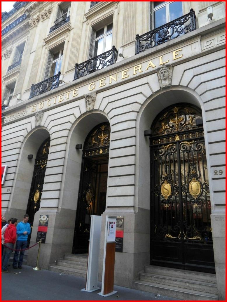 l 39 agence centrale de la soci t g n rale la parisienne du nord. Black Bedroom Furniture Sets. Home Design Ideas