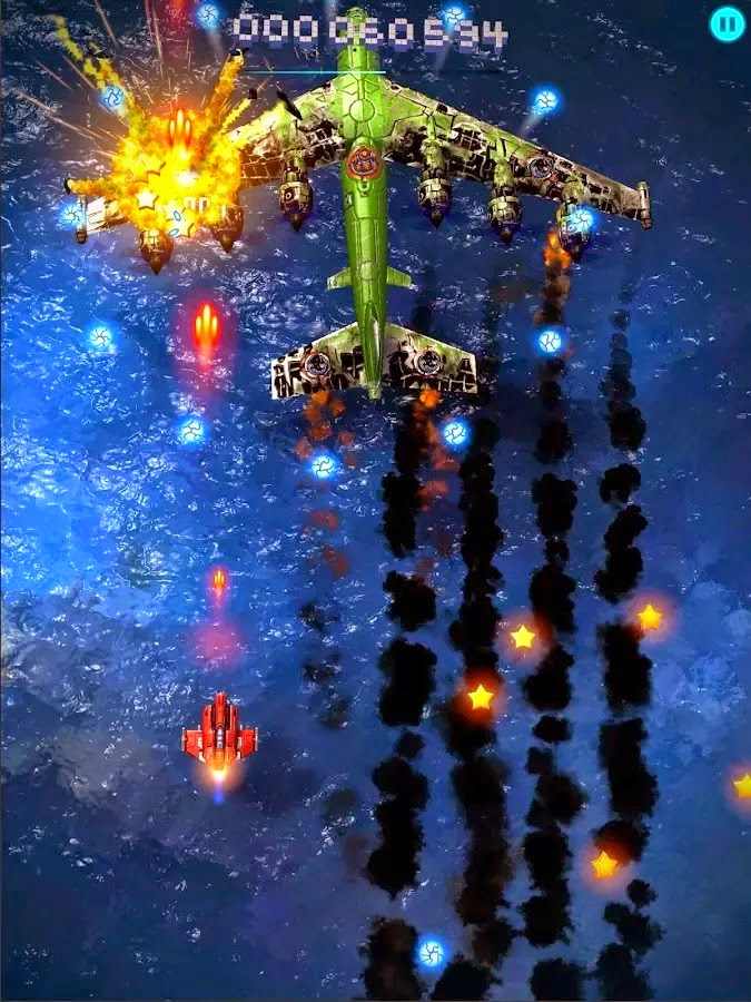 Sky Force 2014 v1.25 Mod [Unlimited Stars/Unlocked]