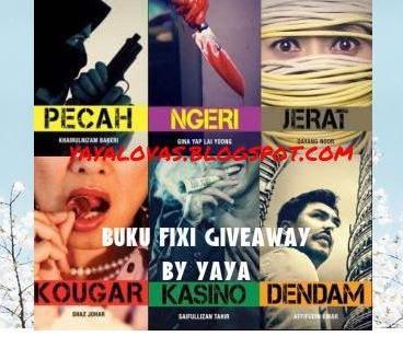 Buku Fixi Giveaway by Yaya