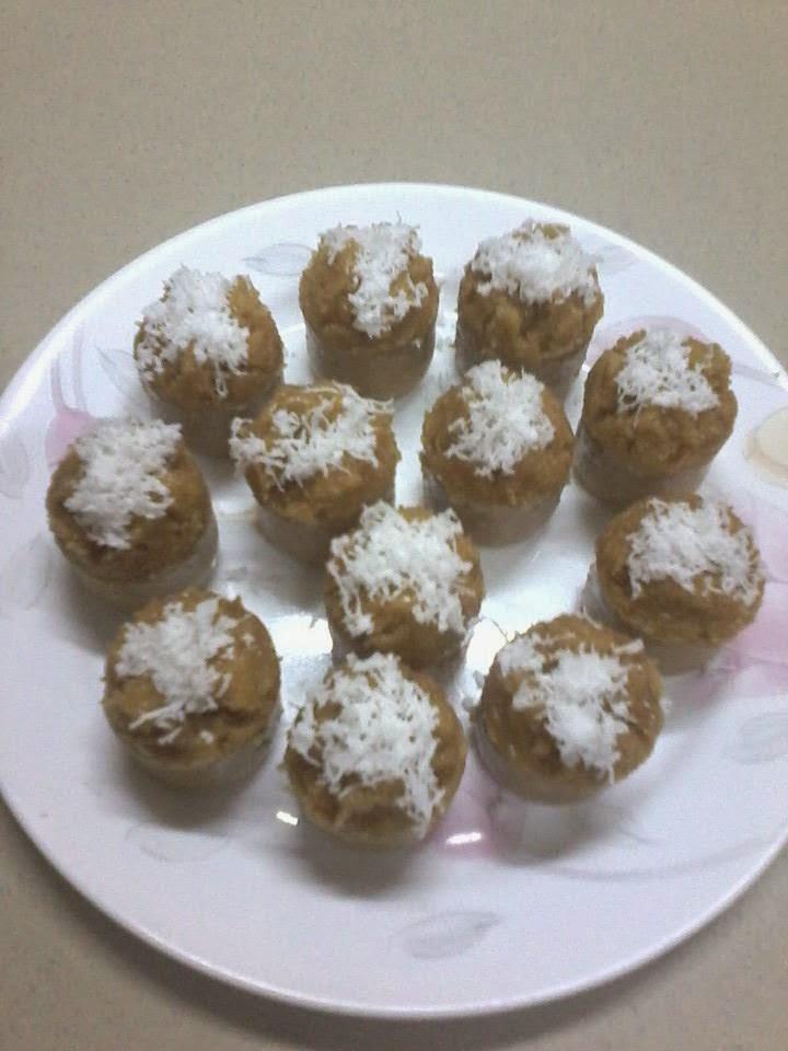 Resep Cara Membuat Kue Mangkuk GULA MERAH Mekar