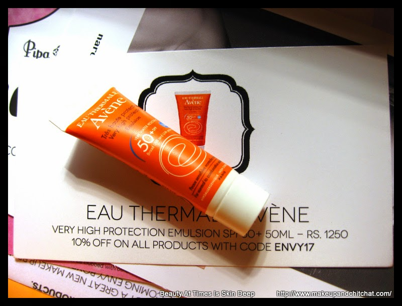 Photo of Avene Sunscreen