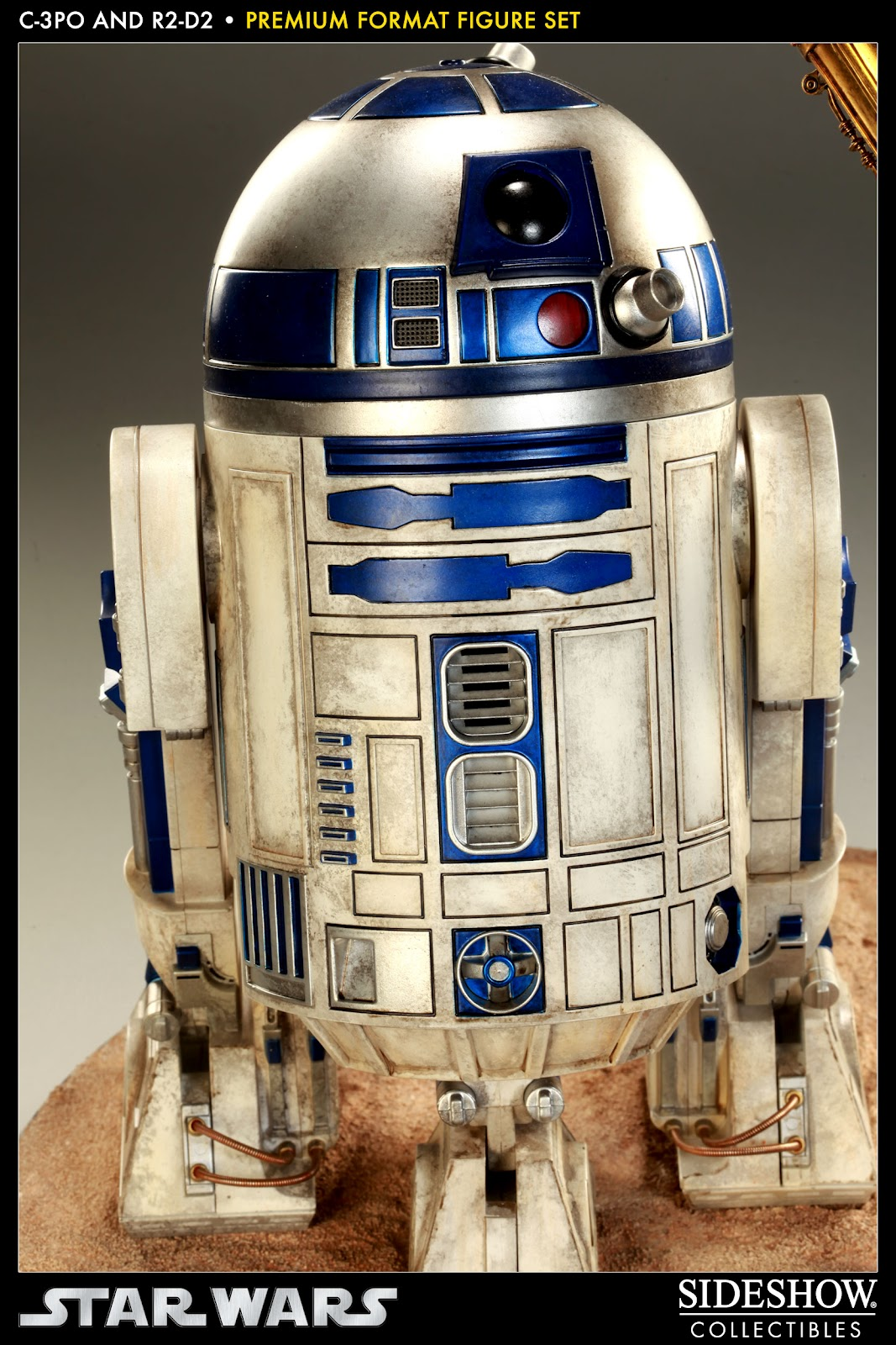 R2d2 And C3po Toys : Star wars c po r d premium format figure sg toys