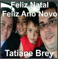 Laranjal:Tatiane, Danilo e família desejam a todos um Feliz Natal e uma Próspero Ano Novo