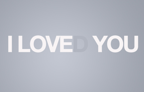 Love(d) you.