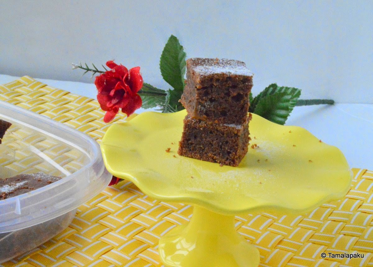 Eggless Yogurt Brownies