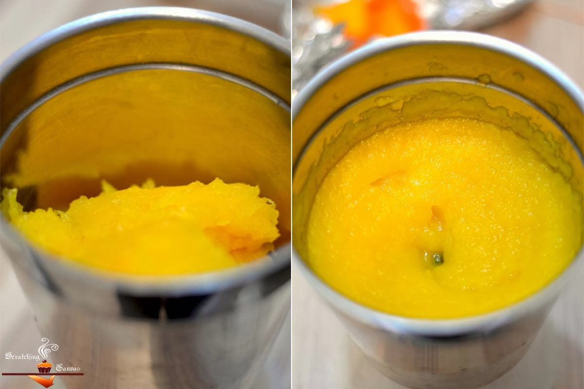 Recipe | DIY : Fresh Homemade Pumpkin Puree | Scratching Canvas