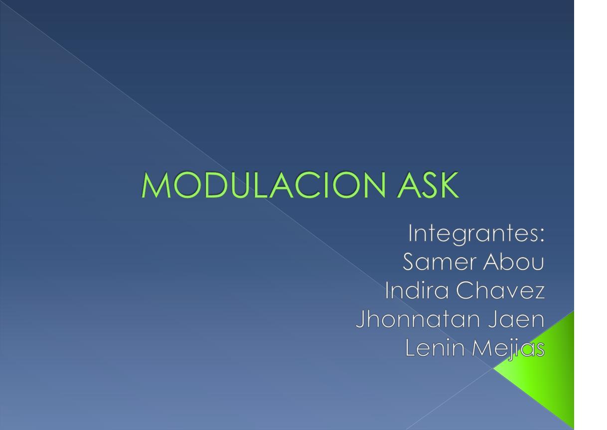 Diapositivas Modulacin Ask