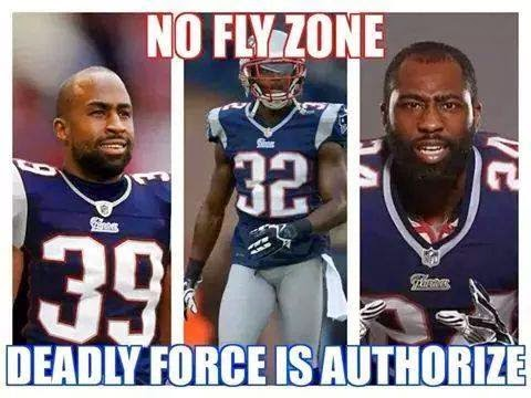 no fly zone, deadly force is authorize