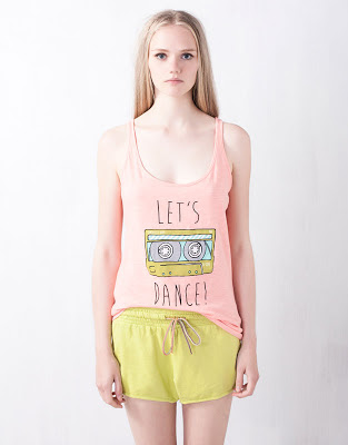 camiseta de tirantes pull and bear tendencia de verano