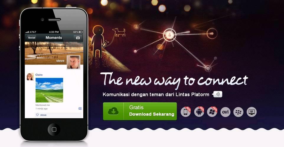 Download Aplikasi Chat Wechat For Blackberry Terbaru