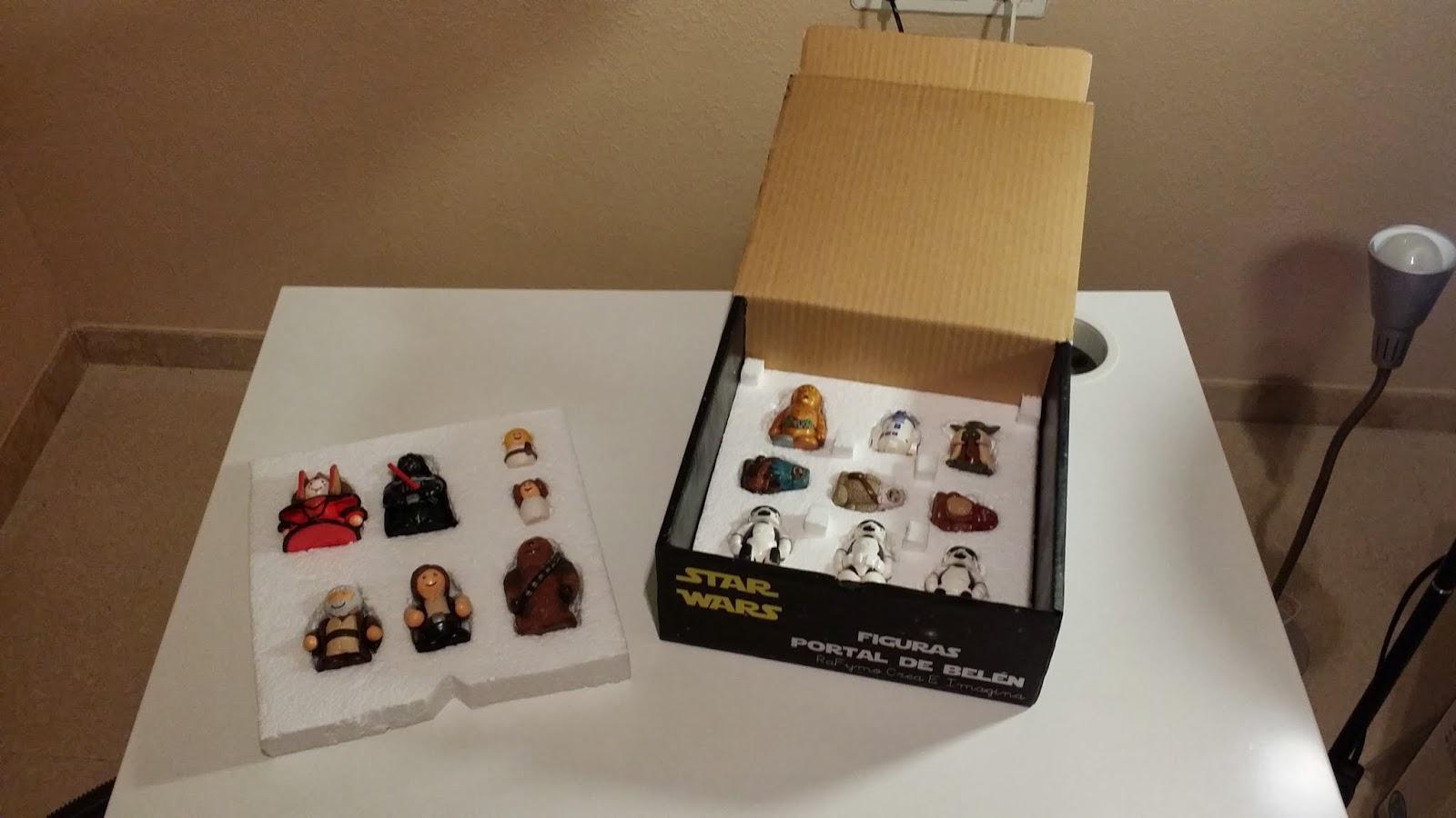 Caja Belen de Star Wars Fimo