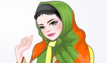 العاب تلبيس بنات محجبات