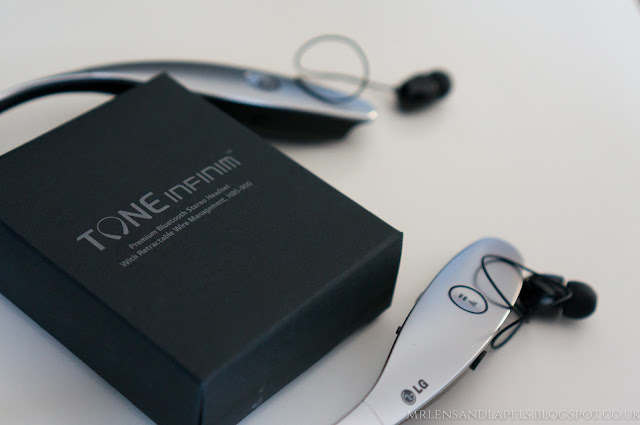 LG Tone infinim bluetooth stereo headset HBS-900