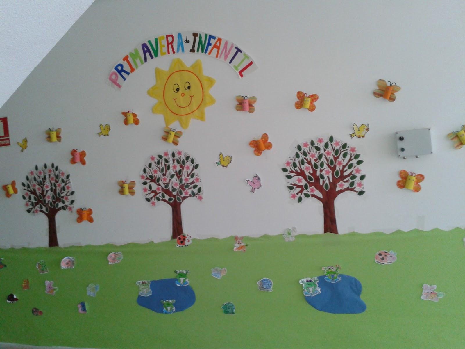 Quieres que te lo cuente otra vez decoraci n de primavera for Decoracion primavera infantil