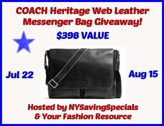 coach+heritage+bag Another Awesome Coach Giveaway For You!