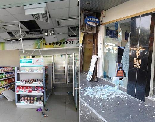 Gempa Bumi Landa Ranau Sabah