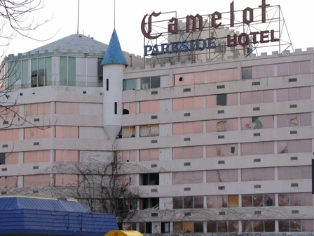 Ever Since I Was A Kid Can Remember The Once Beautiful Camelot Hotel Built In 1960 S It An Elegant Eight Story 330 Room Pink Castle