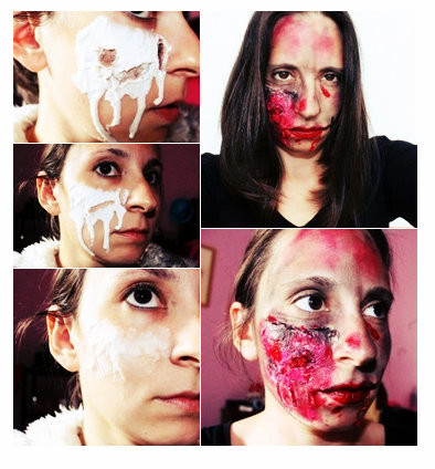 maquillaje paso a paso halloween