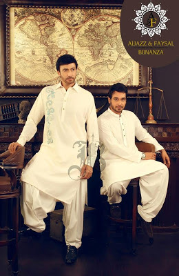 Menswear Eid Kurta Collection 2013-2014 By Bonanza