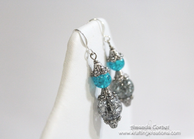 Smoky Turquoise Earrings