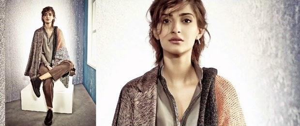 Sonam Kapoor Photo Shoot for Elle Magazine Photos