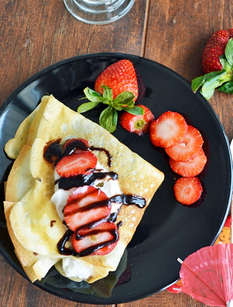 French Crepe Recipe with 5 simple steps Recipe