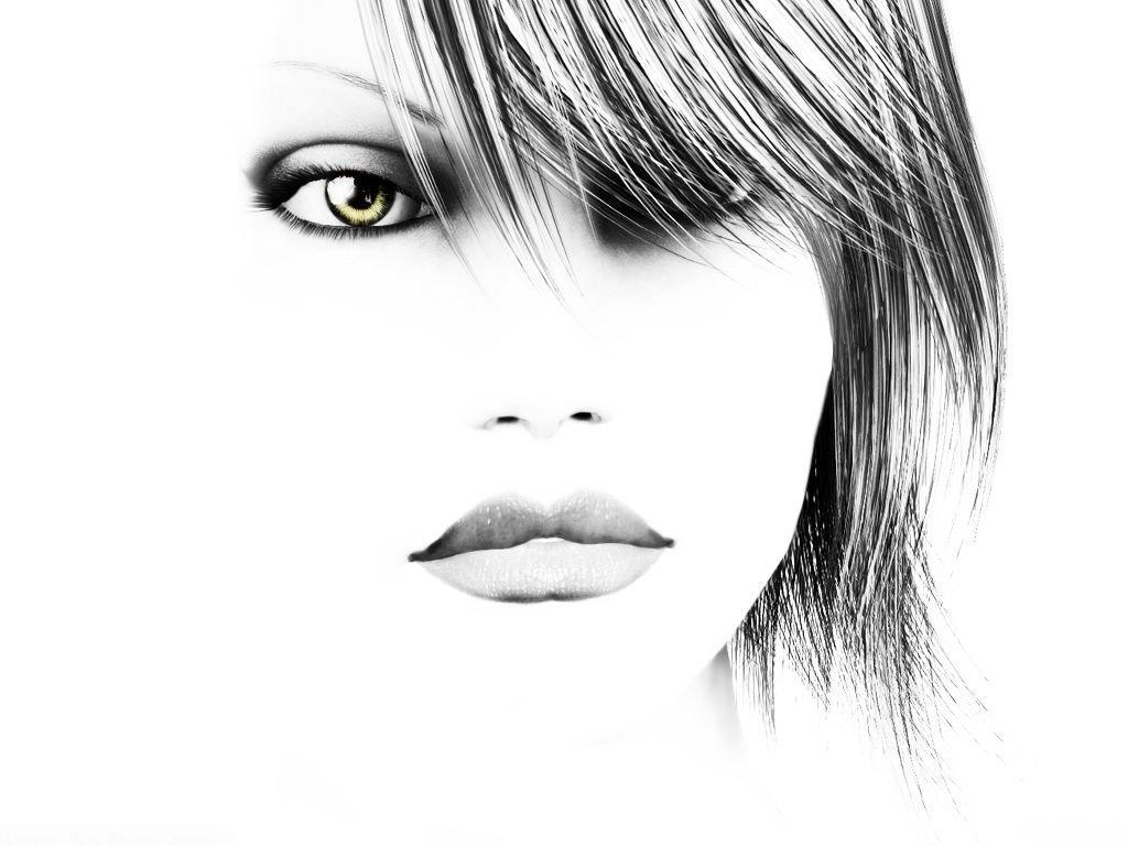 عکس دختر گرافیکی