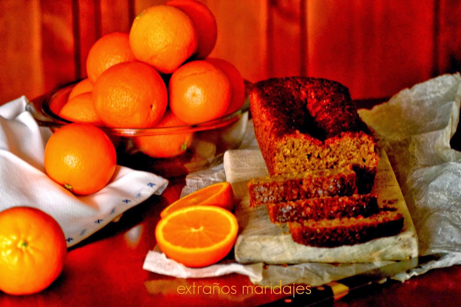 Bizcocho Integral De Naranja