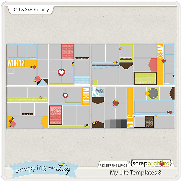 http://scraporchard.com/market/My-Life-8-Digital-Scrapbook-Templates.html