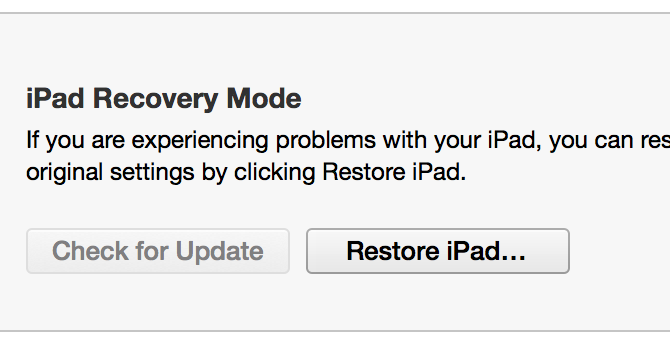click the Restore button while holding the Option key