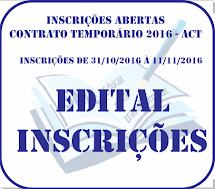 Inscrições ACT