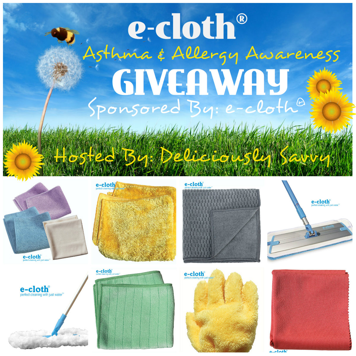 Allergy Awareness Ecloth Giveaway
